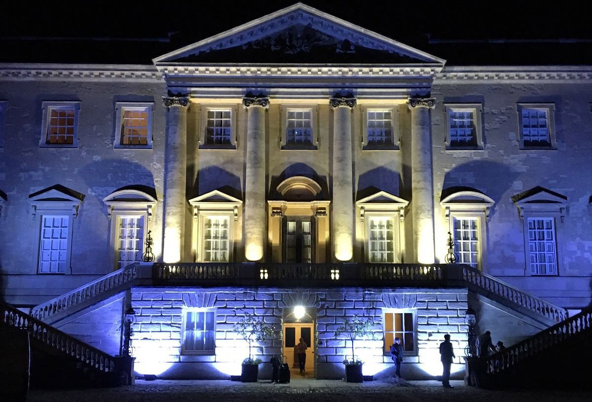 Outdoor lighting hire in oxford core event hire ip rated exterior lighting for weddings and events mozeypictures Image collections
